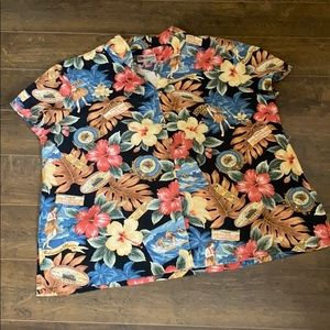 VTG HILO HATTIE Rare Hula Girl Resort Blouse Top